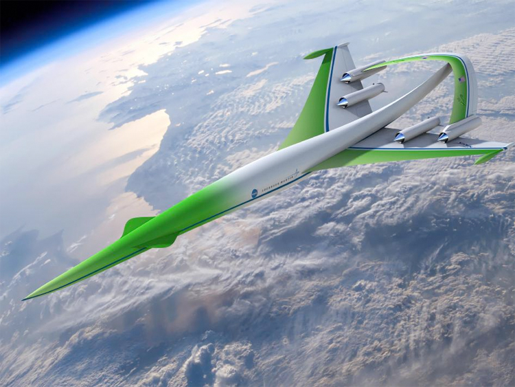 Supersonic Green Machine by Lockheed/Martin